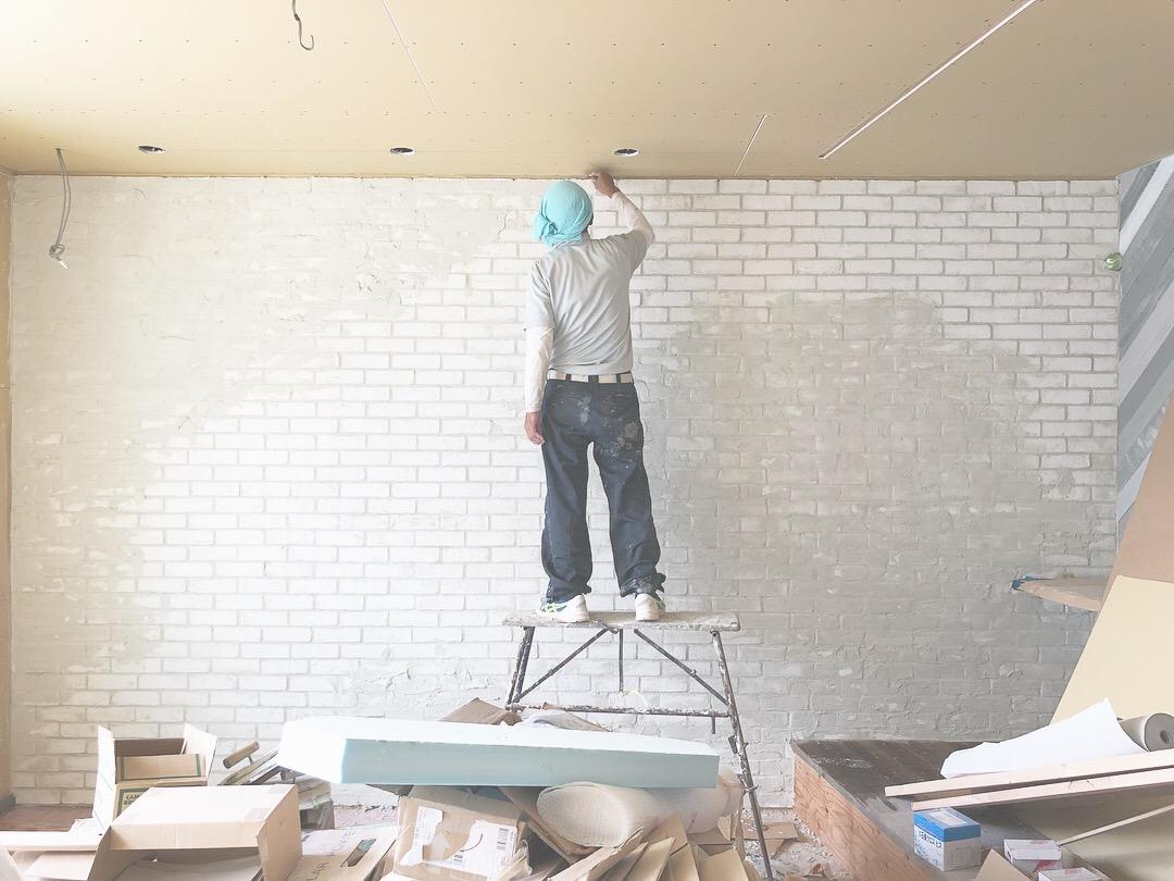山梨の注文住宅、未来建築工房の新社屋が完成に一歩ずつ近ずいています。エイジングも開始。どんな仕上がりになるのか…