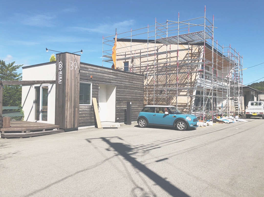山梨の注文住宅、未来建築工房の新社屋