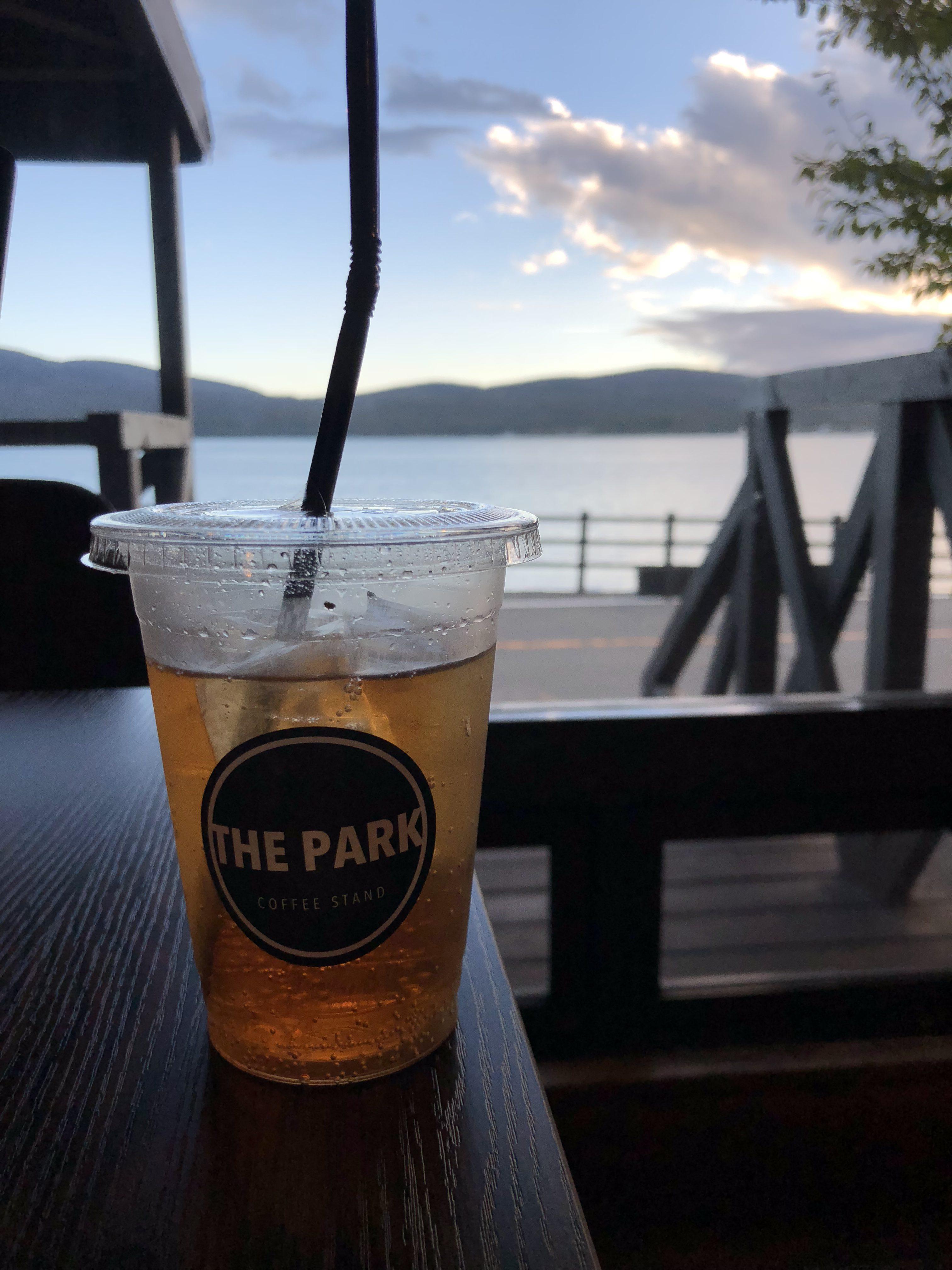 THE PARK 山中湖のコーヒースタンド|ウィルキンソンジンジャエール辛口