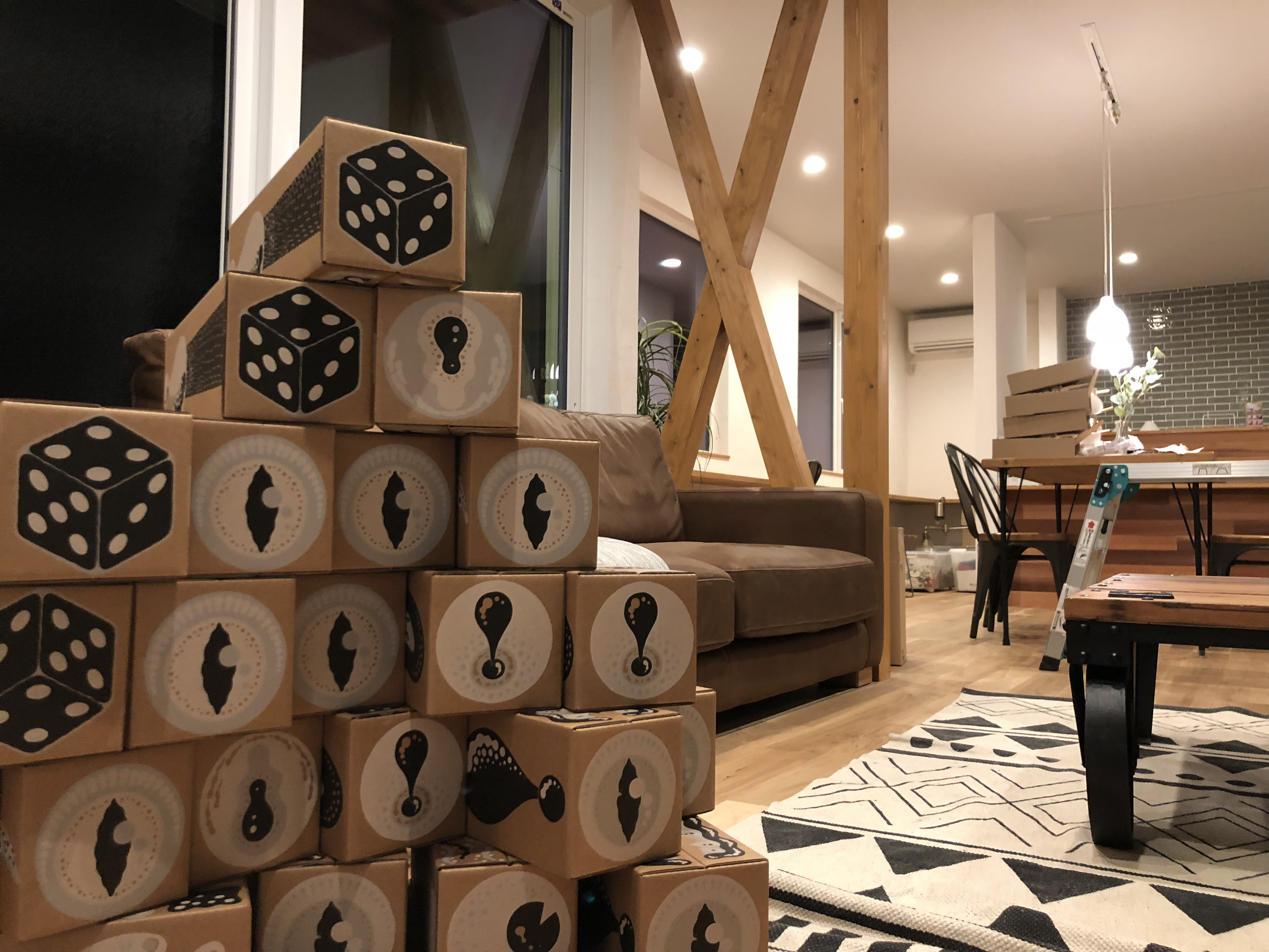 山梨県の工務店、未来建築工房とつくる注文住宅。|富士河口湖町勝山の家でOPENHOUSEの準備。