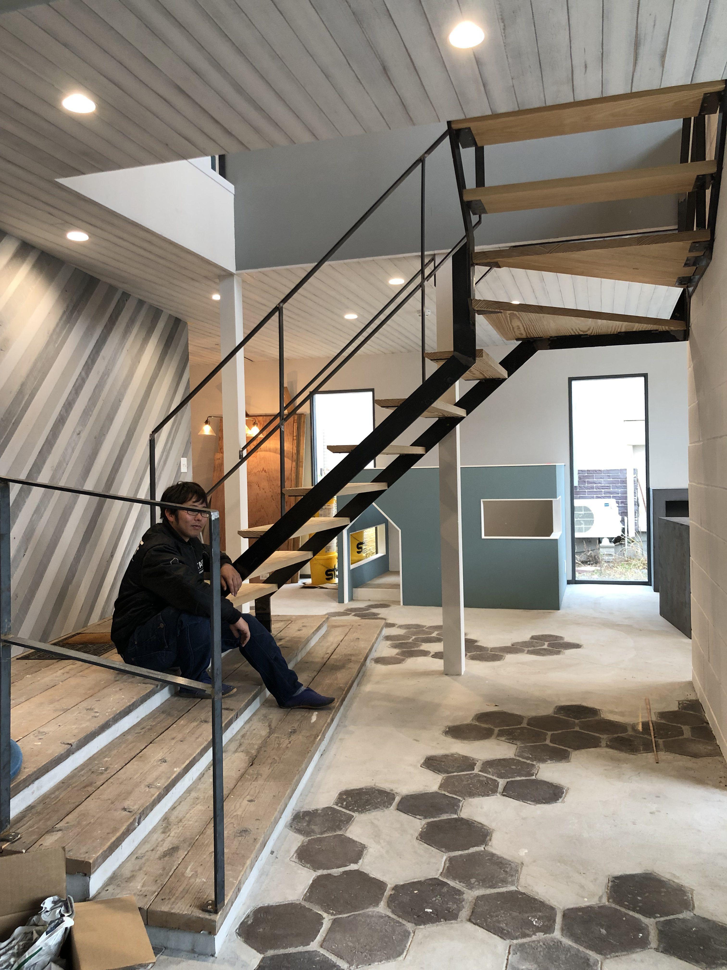 山梨県の工務店、未来建築工房とつくる注文住宅。 スタジオHOUSEⅢⅨで撮影