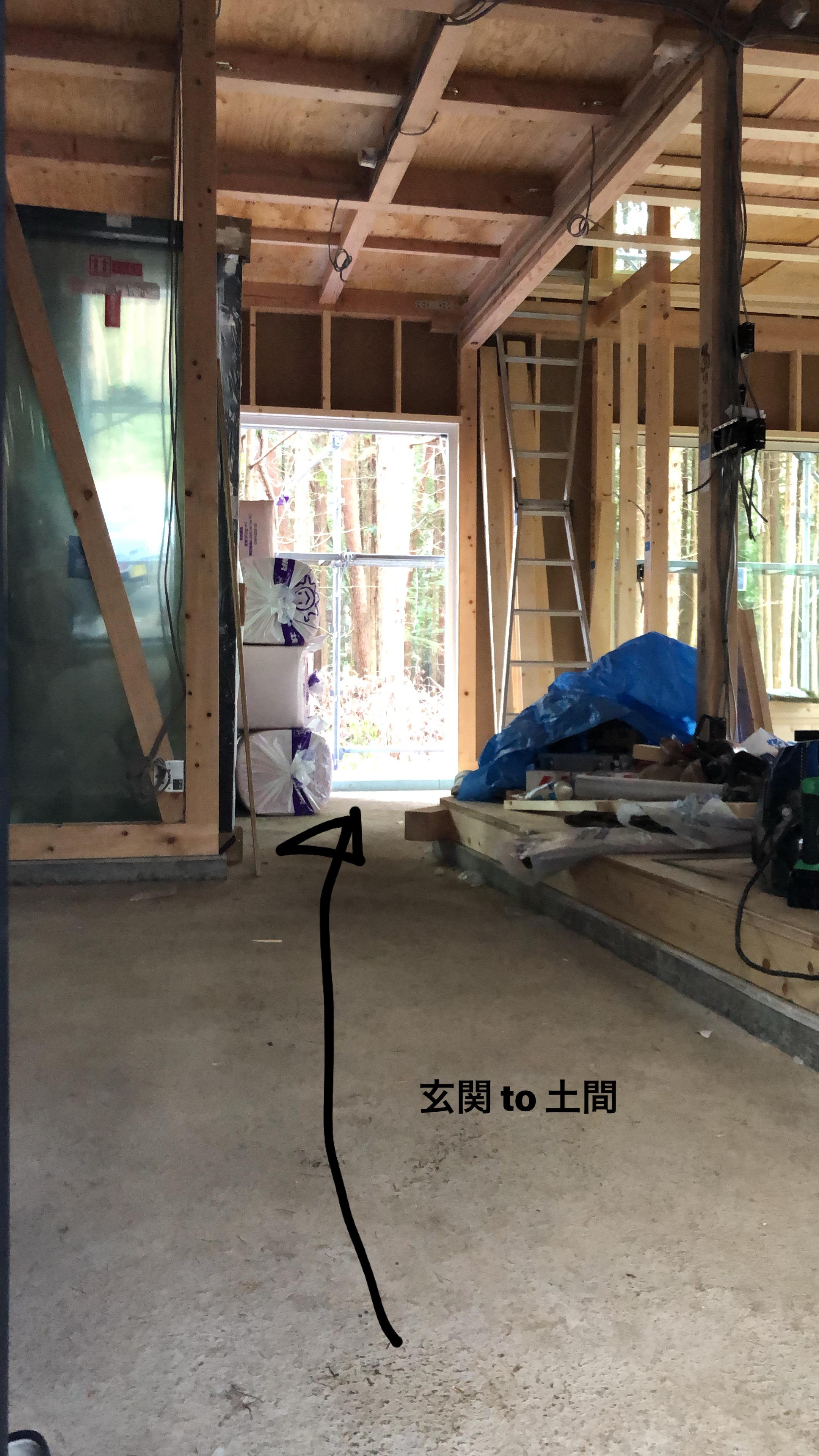 山梨県の工務店、未来建築工房とつくる注文住宅。|土間リビングがあるアウトドアスタイル。河口湖の家。