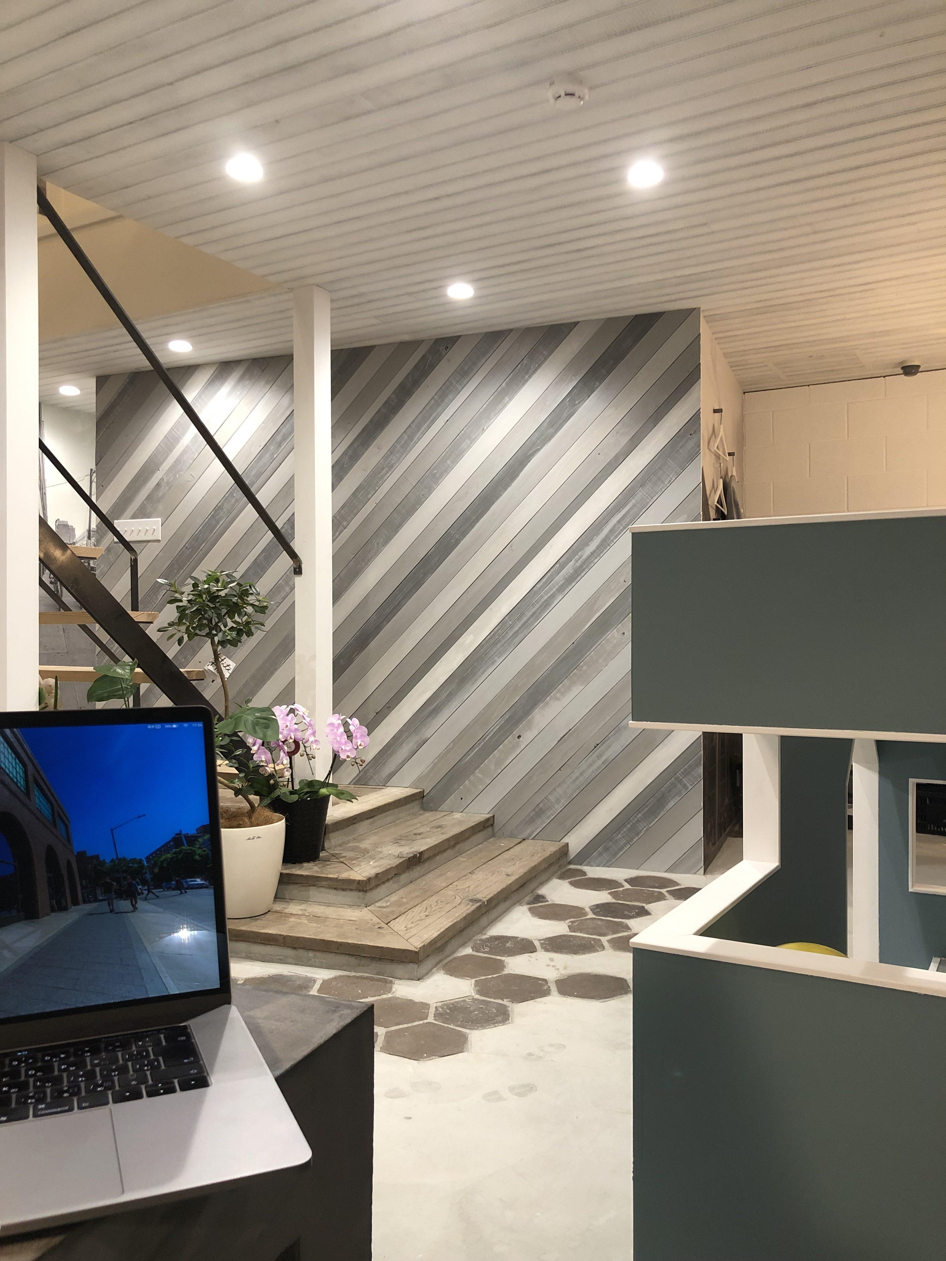山梨県の工務店、未来建築工房とつくる注文住宅。|打ち合わせスペース