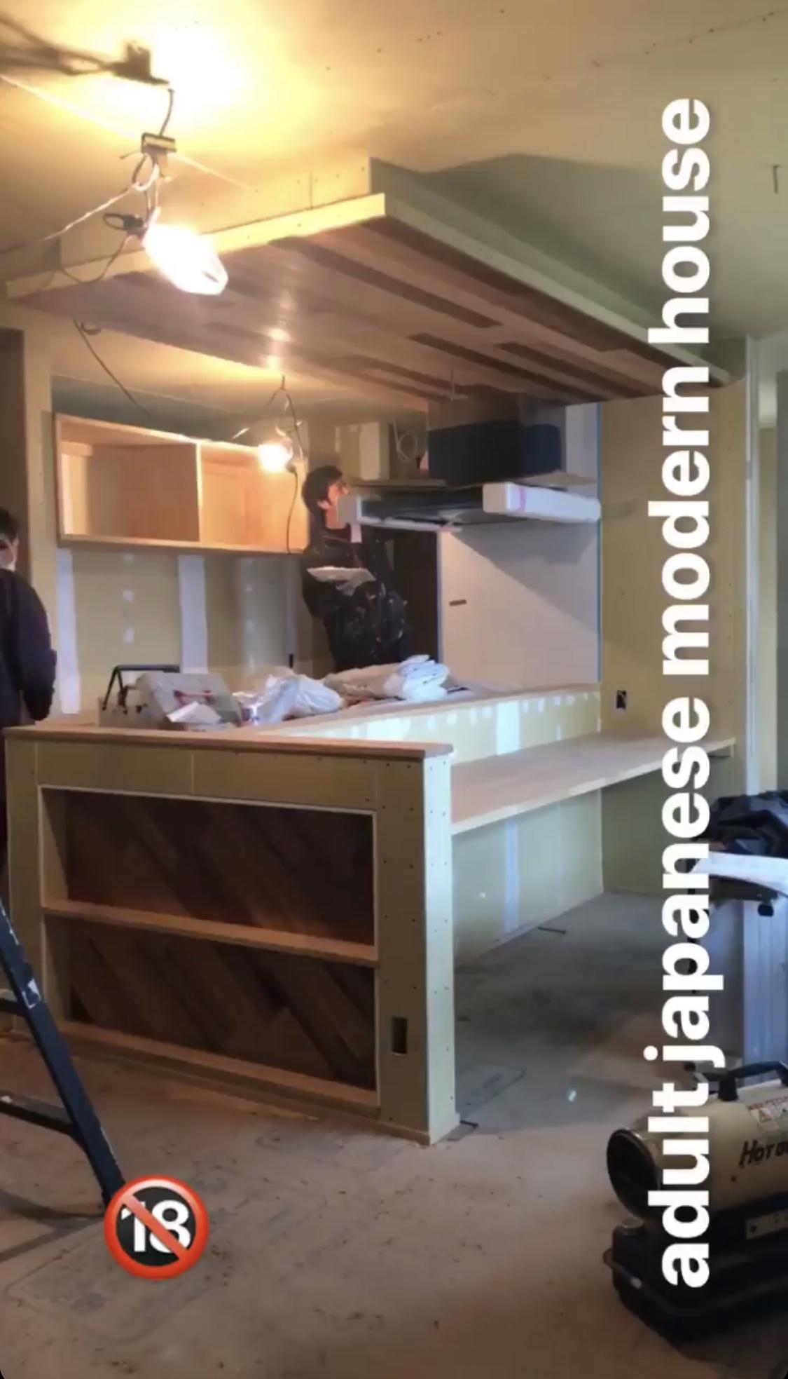 山梨県の工務店、未来建築工房とつくる注文住宅。|富士吉田市の葭池温泉前の大人和モダンスタイルの家