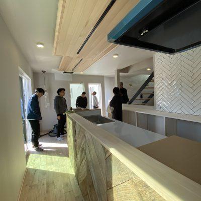 山梨県の工務店、未来建築工房とつくる注文住宅。 都留市のブルックリンスタイルの家