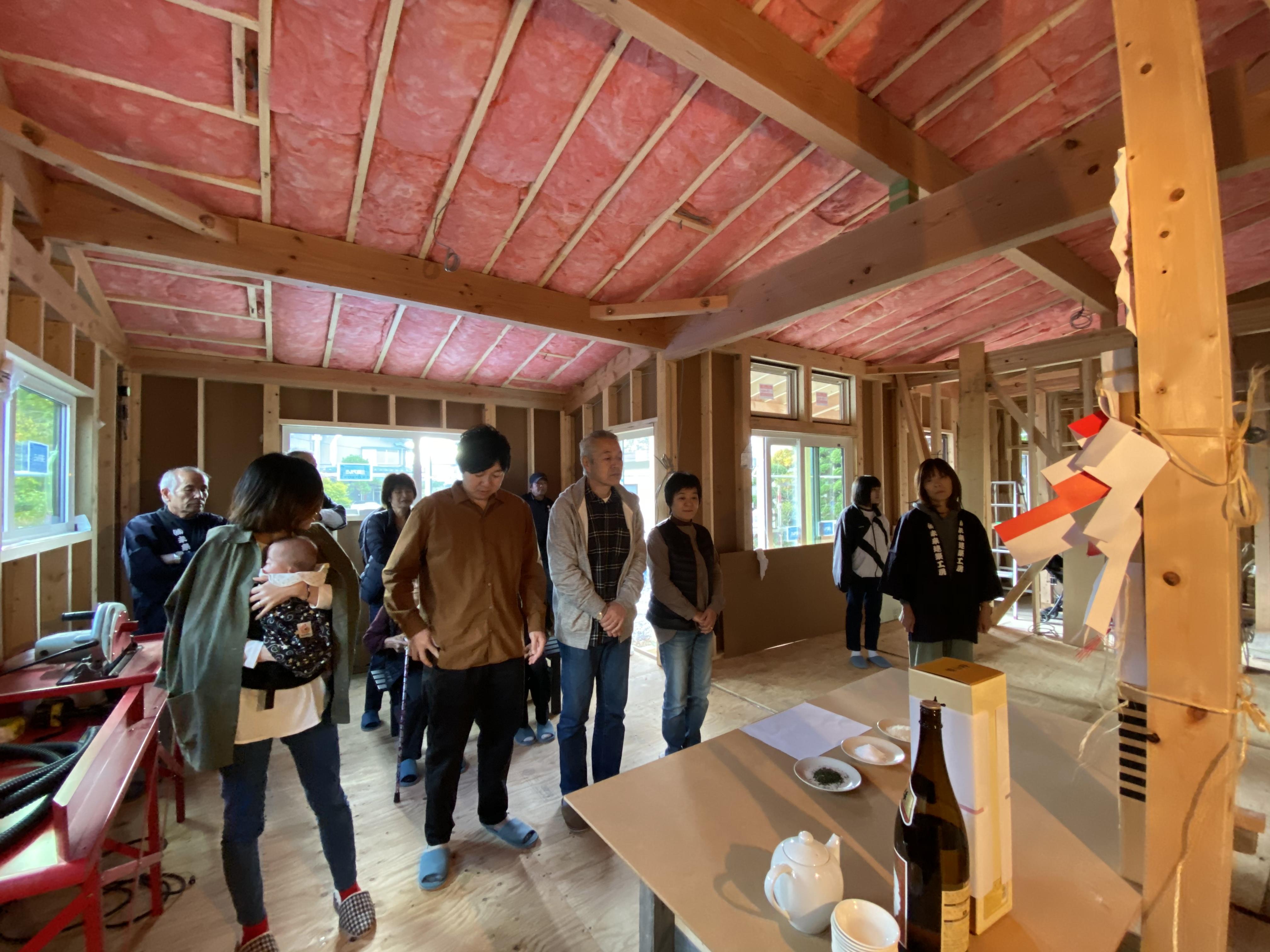 山梨県の工務店、未来建築工房とつくる注文住宅。|二世帯住宅、上棟式