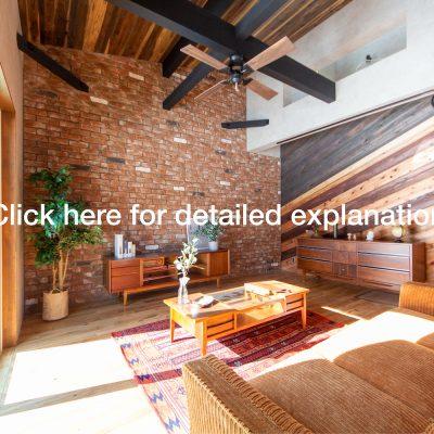 山梨県の工務店、未来建築工房とつくる注文住宅。|アメリカンヴィンテージスタイルの家、見学会情報