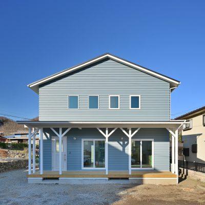 山梨県の工務店、未来建築工房とつくる注文住宅。|カリフォルニアスタイルの家