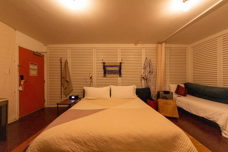 山梨県の工務店、未来建築工房とつくる注文住宅。|カリフォルニア滞在中、初日と二日目のホテルはACE HOTEL。