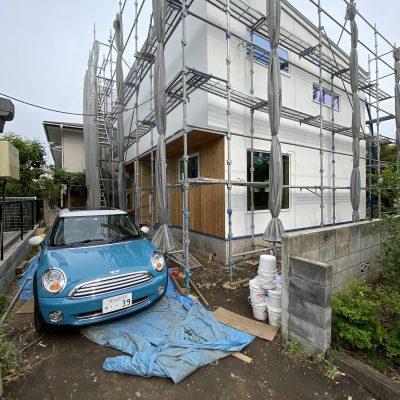 山梨県の工務店、未来建築工房とつくる注文住宅。|東京都小金井市の新築工事
