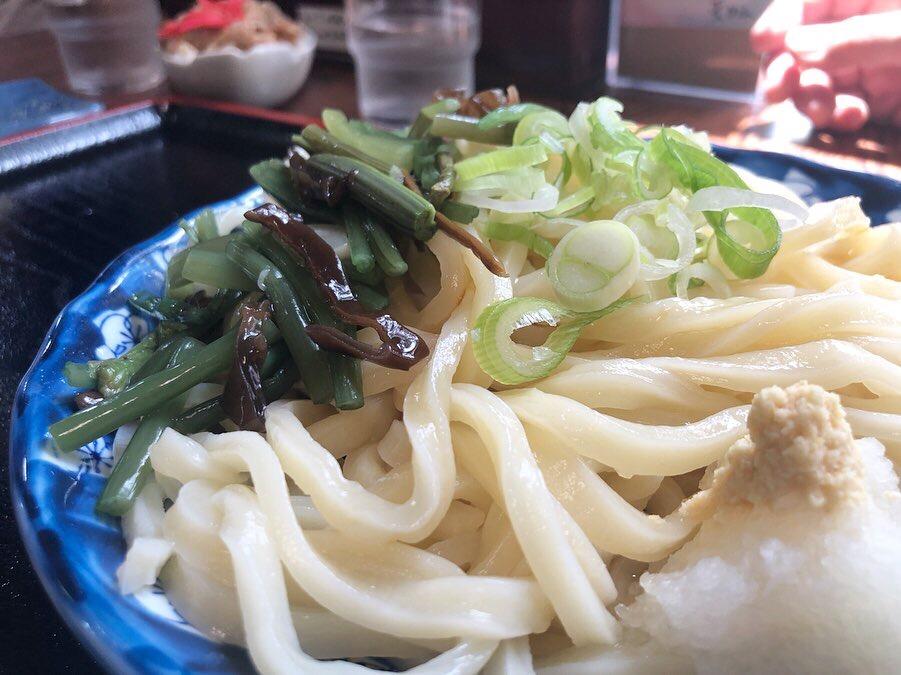 量が多くてもツルッと食べれる美味しいうどん屋!天めんさん!@FUJIHOKUROKU