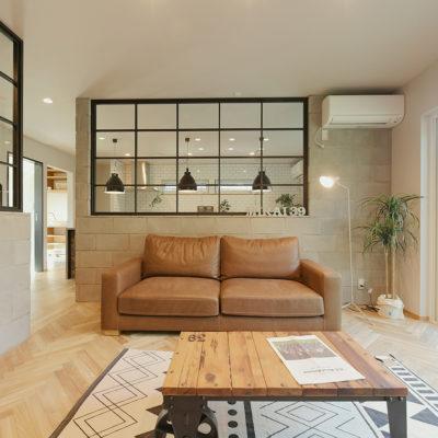 ブルックリンスタイルの家、これから見学する方へ|山梨県富士吉田市のデザイン注文住宅
