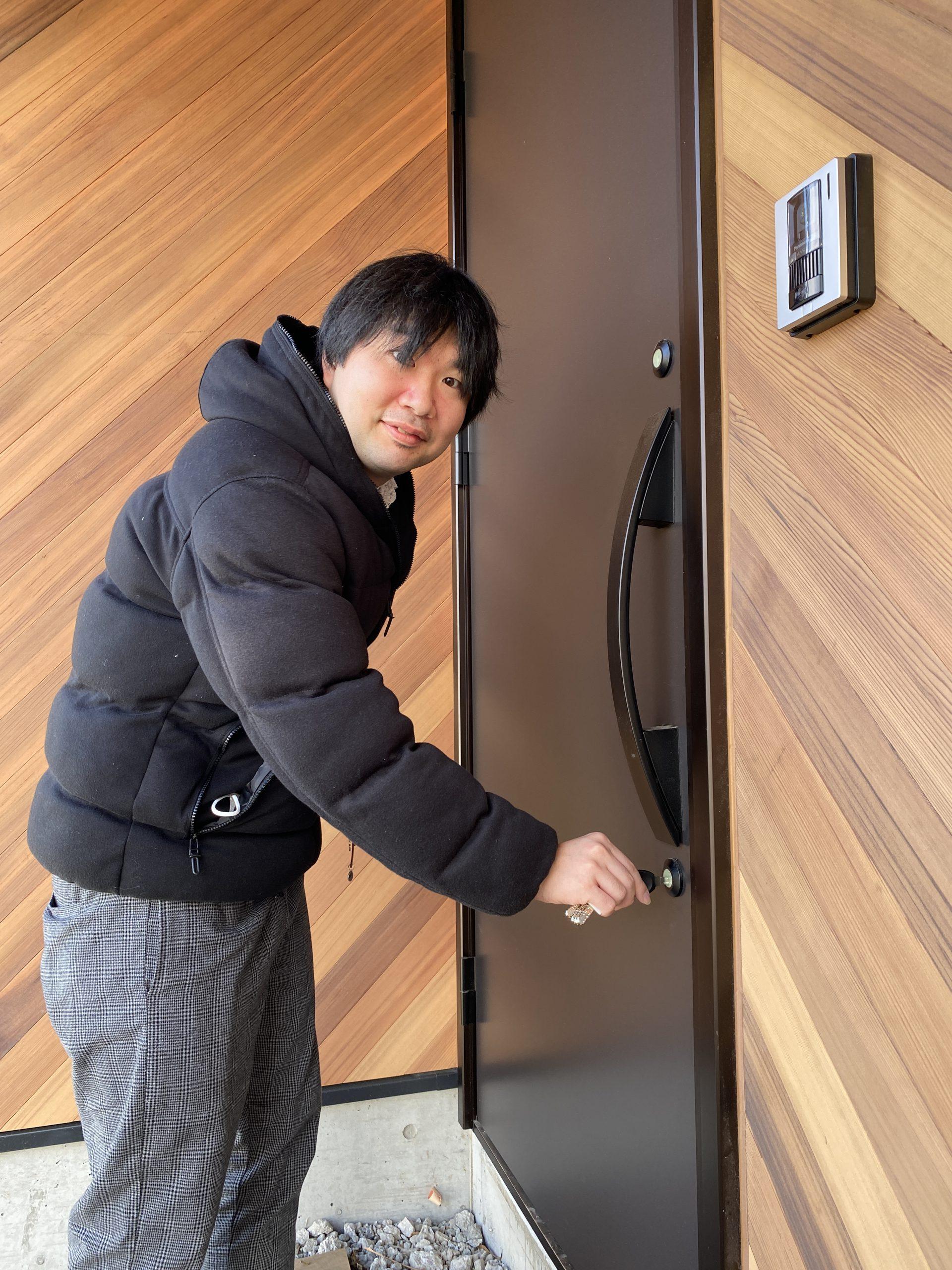 富士吉田市の注文住宅、ホテルライクスタイルの家のお引き渡し