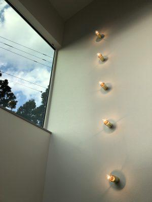 山梨県都留市の女性が大好きなカフェスタイルの家もうすぐ完成!