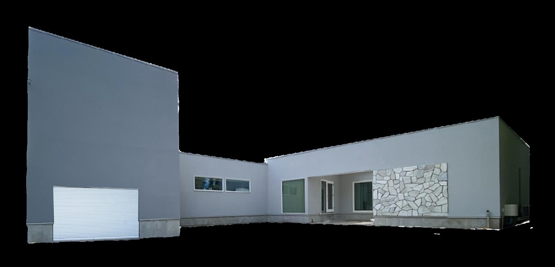 モデルハウス外観